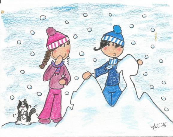 Vespa sous la neige 001