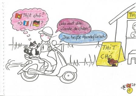 Aurely & Myrtillou au Vietnam- cours de viet à Vespa 1 001