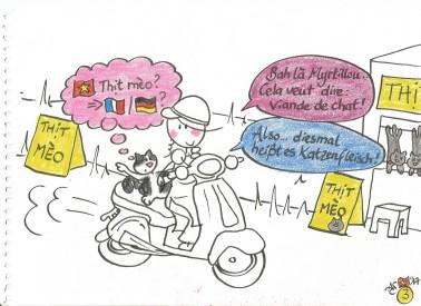 Aurely & Myrtillou au Vietnam- Cours de viet à Vespa 3 001