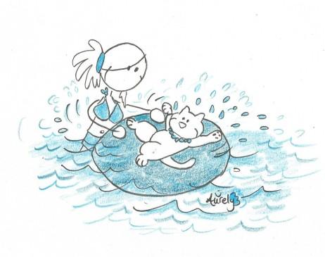 Yoginou blue swimming pool 001