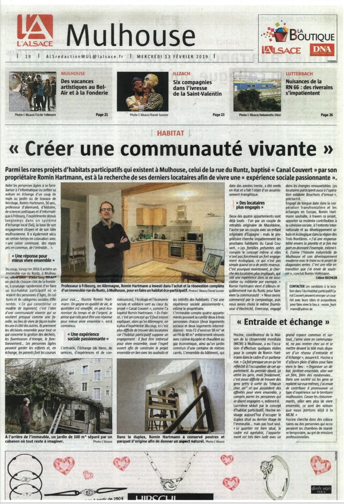 Article Romin l Alsace