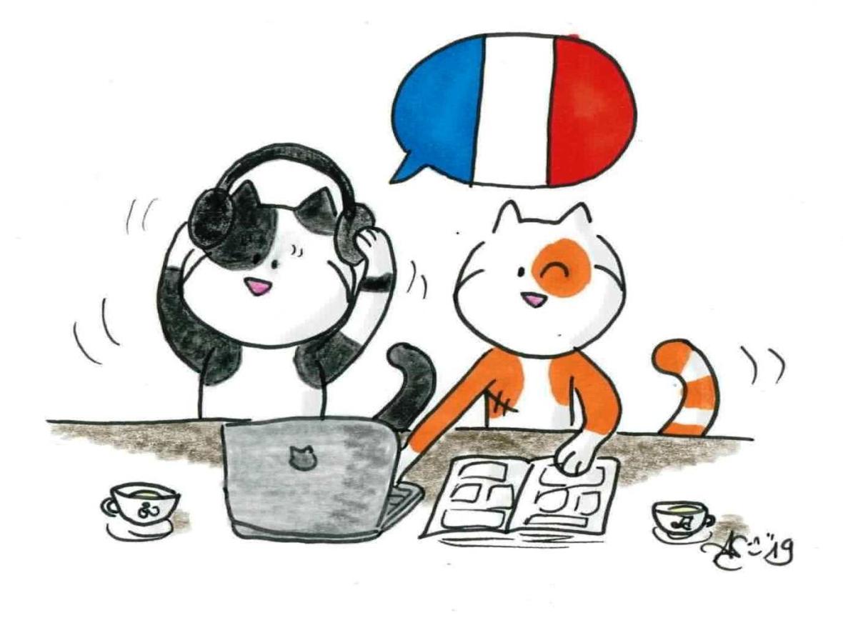 Myrtille apprend le français