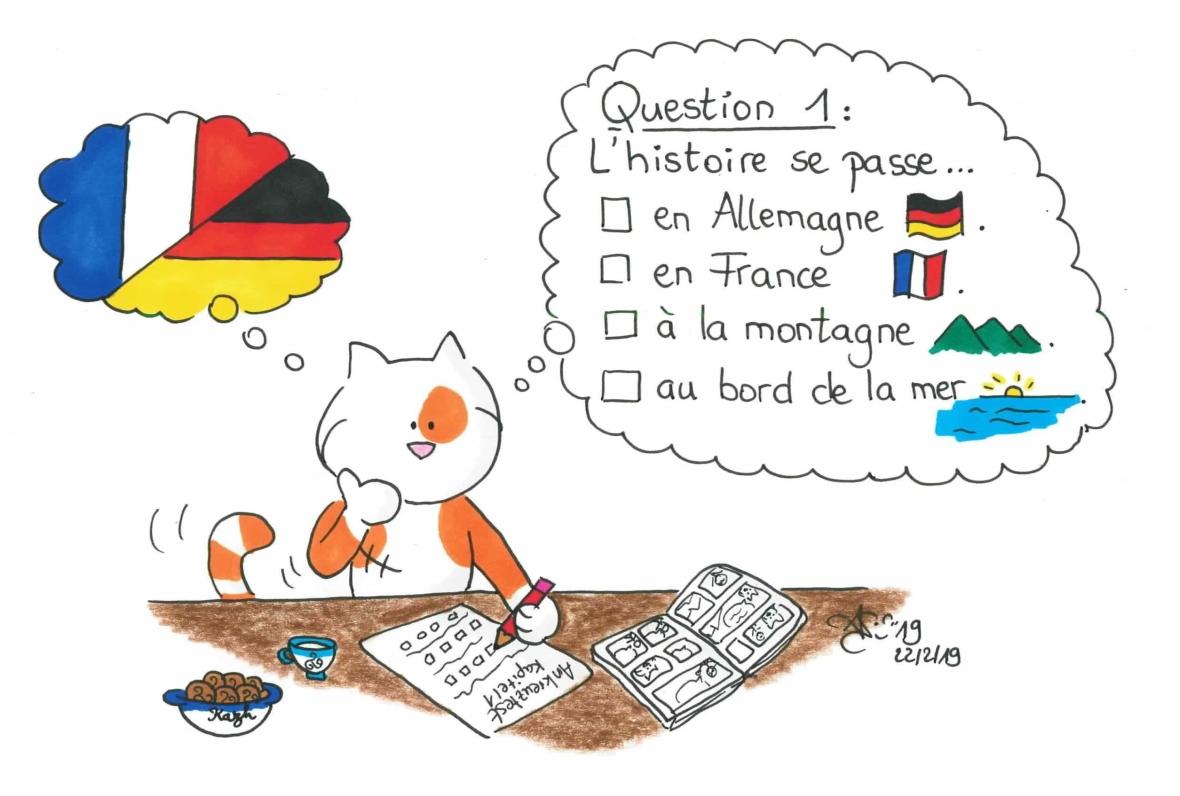 QCM français